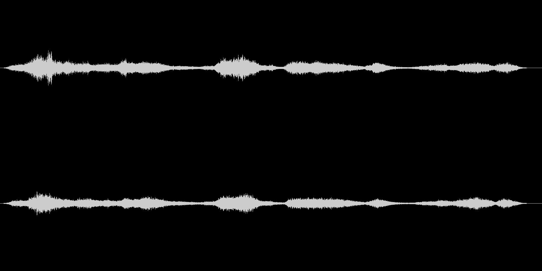 効果音 スピリチュアル、ホラー、超能力…の未再生の波形