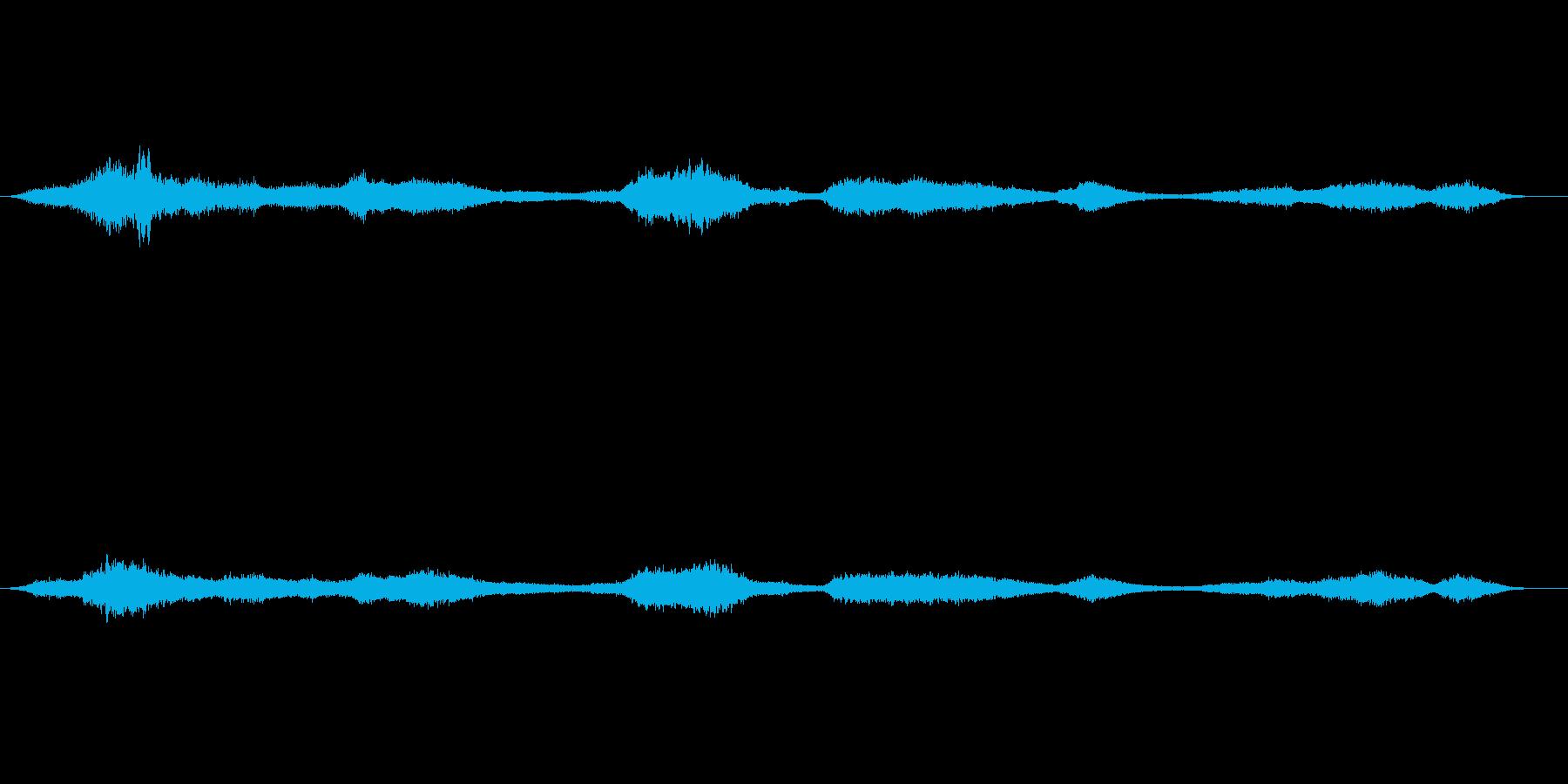 効果音 スピリチュアル、ホラー、超能力…の再生済みの波形