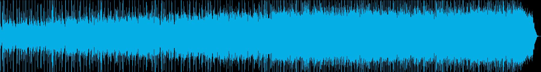 英詞、ミュージカル風・音の壁〜壮大な音像の再生済みの波形