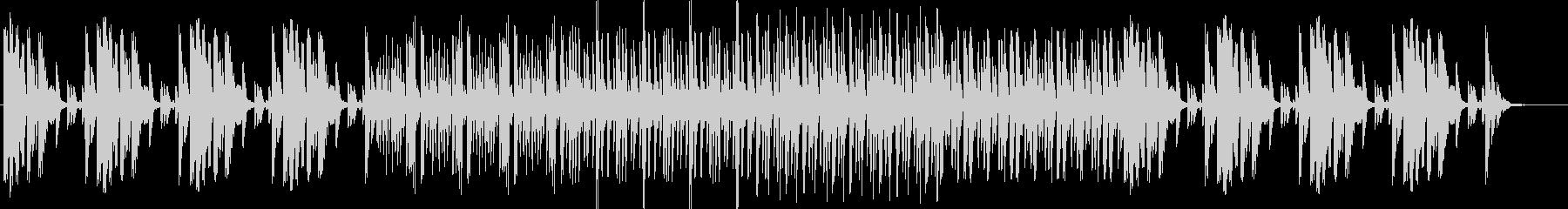 メロ無しファクトリーサウンド。CM,映像の未再生の波形