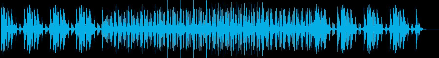 メロ無しファクトリーサウンド。CM,映像の再生済みの波形