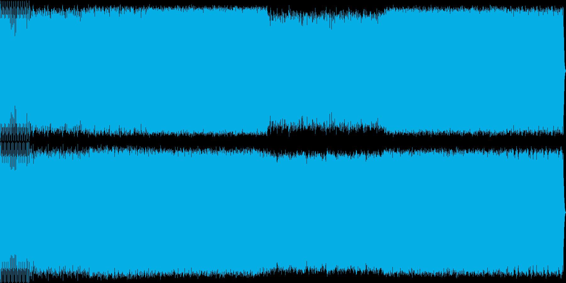 宇宙感のあるリズミカルなアンビエントの再生済みの波形