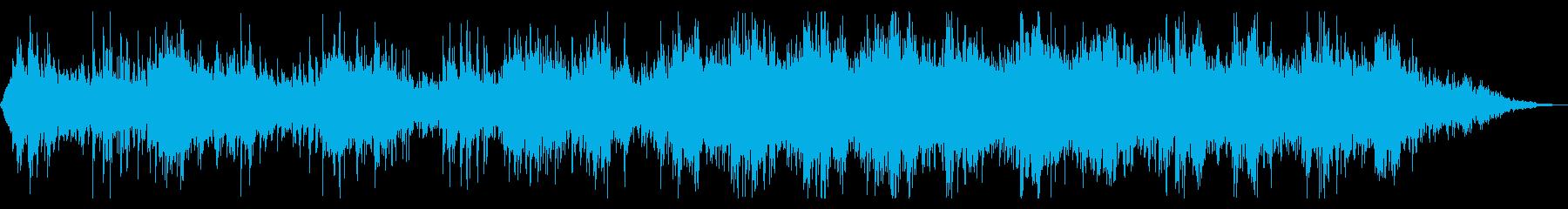 ダーク 不穏 暗い雰囲気の再生済みの波形