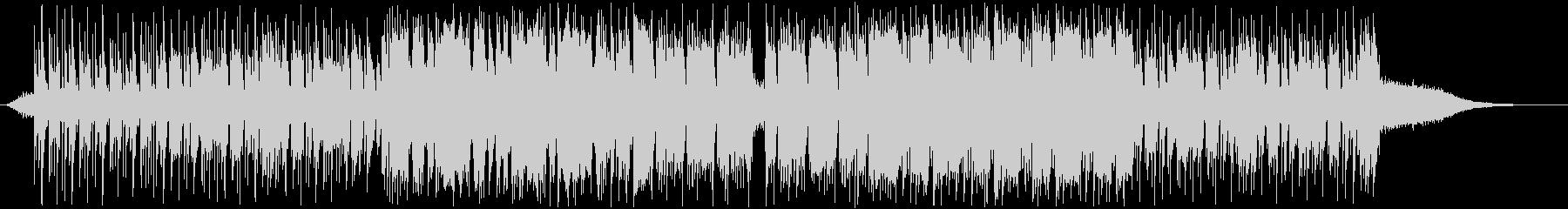 ハネたリズムのインダストリアルロックの未再生の波形