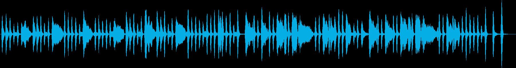 ジングルベルをヴァイオリンソロでの再生済みの波形