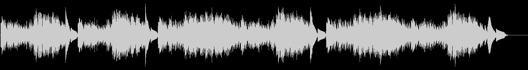 キラキラ星変奏曲(Var X)オルゴールの未再生の波形