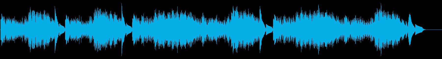 キラキラ星変奏曲(Var X)オルゴールの再生済みの波形