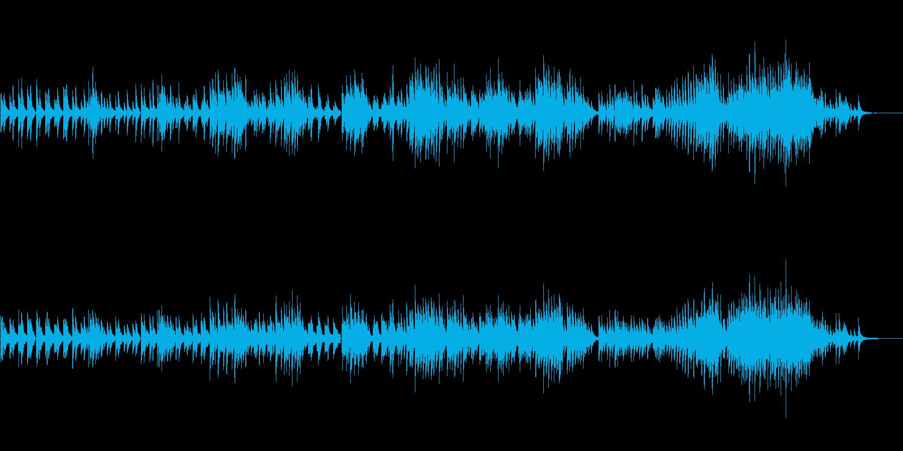 生ピアノソロ・泥中の蓮の花の再生済みの波形