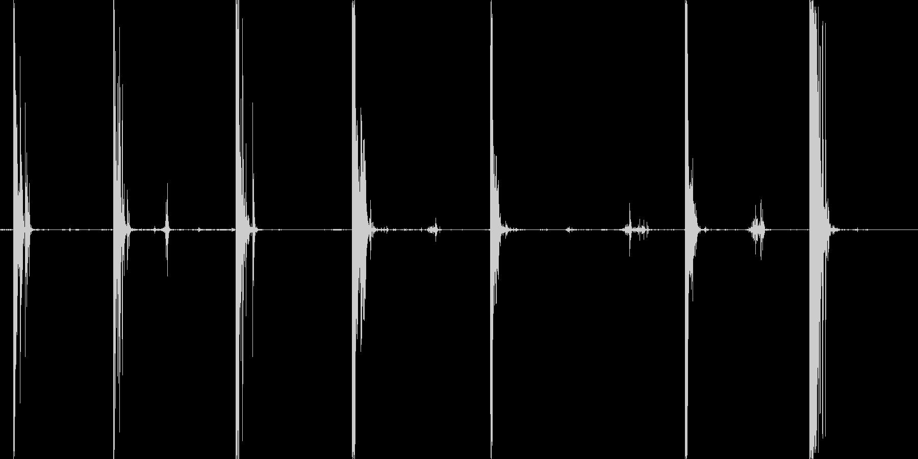 シングルロックスワイルドウィンドス...の未再生の波形