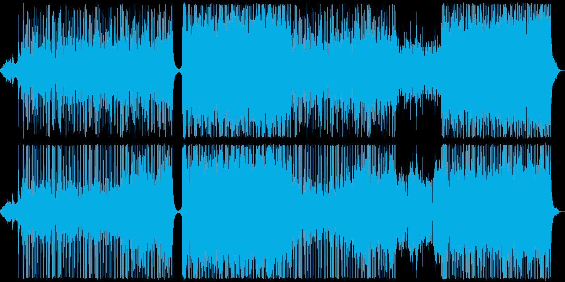 【メロディ抜き】ピアノとパッド中心の透…の再生済みの波形