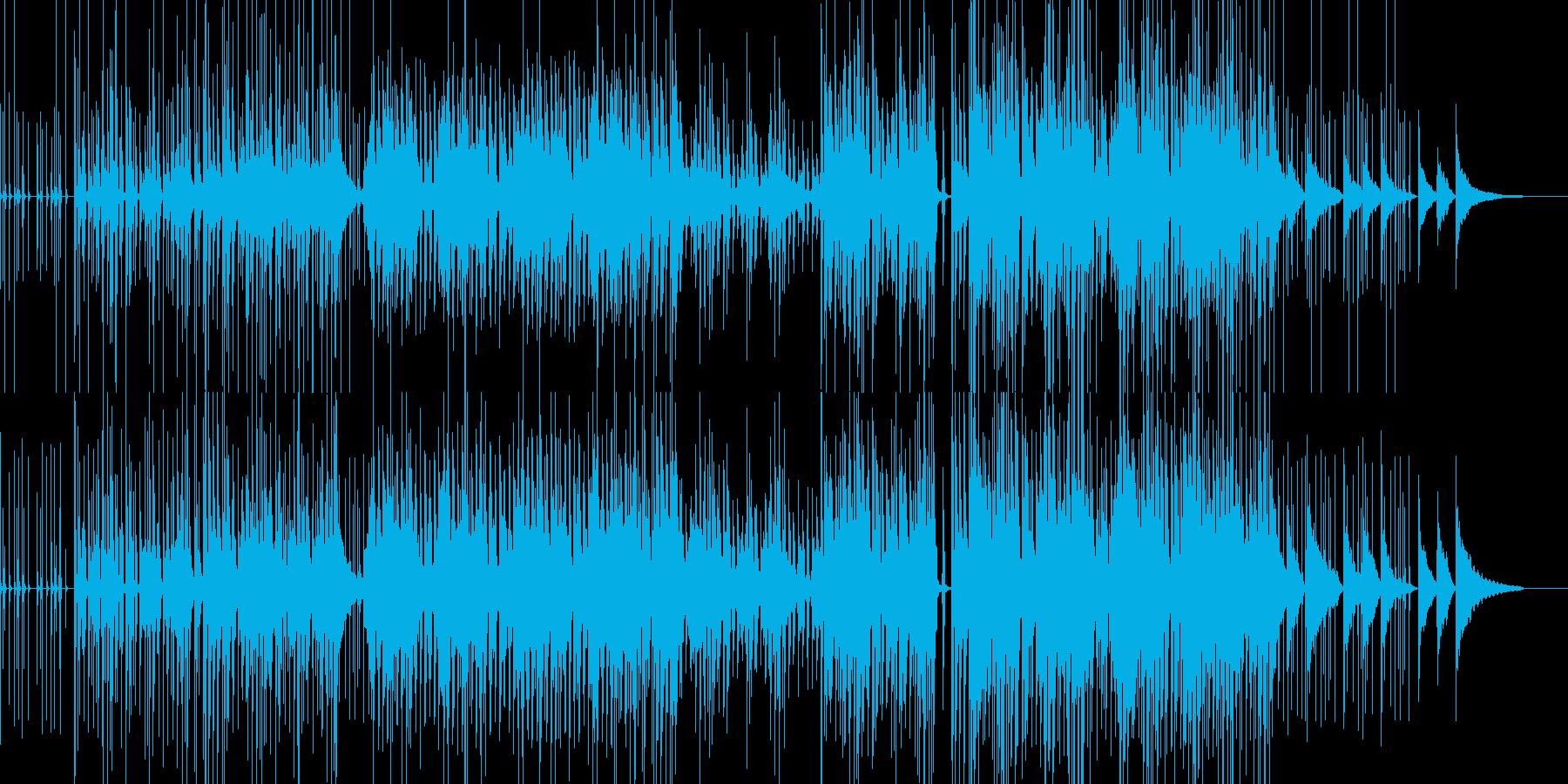 サラサラ ジャズ 民謡 アクティブ...の再生済みの波形