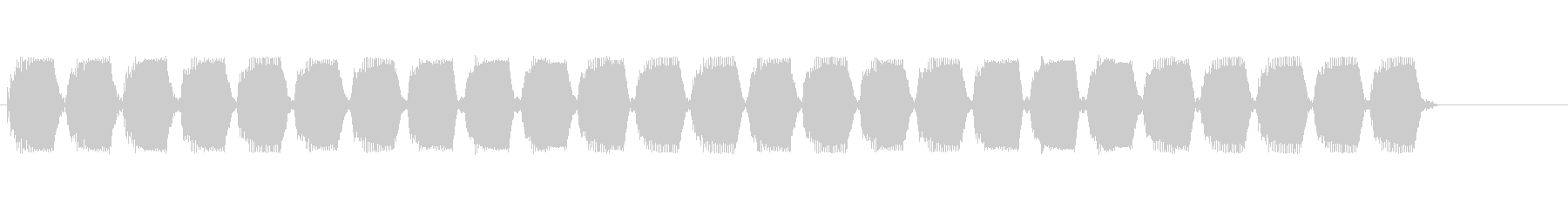 ぶーぶーぶー(バイブ音)の未再生の波形