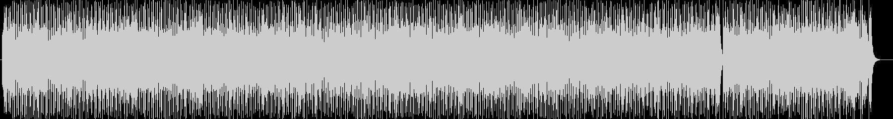 跳ねたリズムのシンセサウンドの未再生の波形