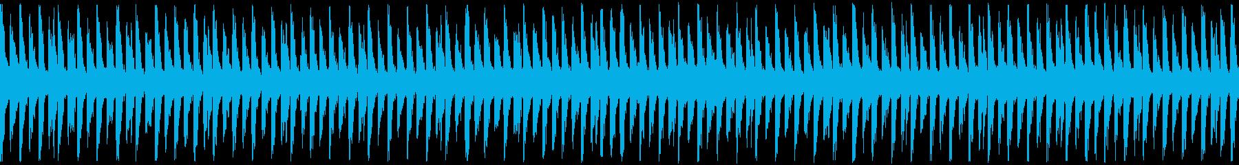 【ループ再生】希望・ポジティブな曲の再生済みの波形