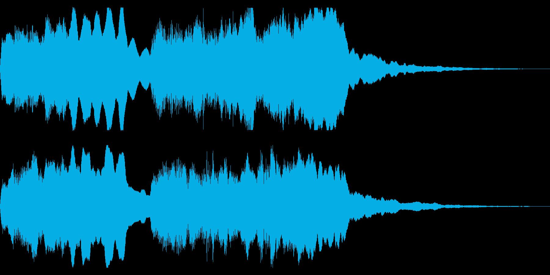 ちゃらりー トッカータ バッハ 不正解の再生済みの波形