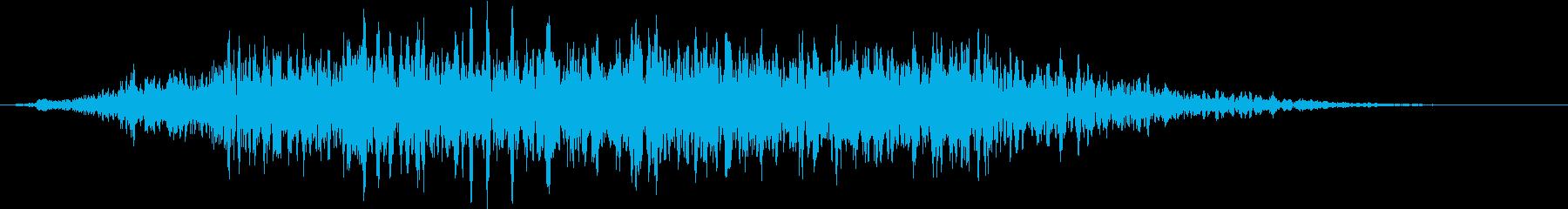【ホラーゲーム】どんよりした空気の再生済みの波形