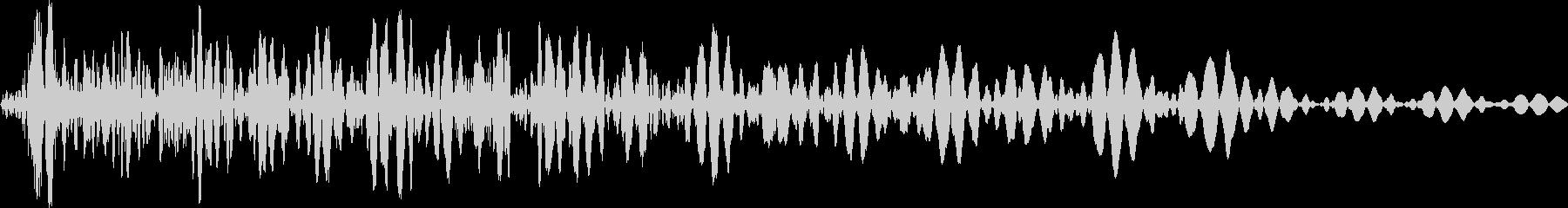 ドウン(ロボット エンジンoff 選択)の未再生の波形