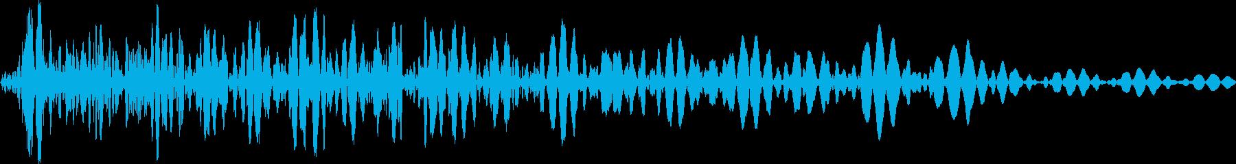 ドウン(ロボット エンジンoff 選択)の再生済みの波形