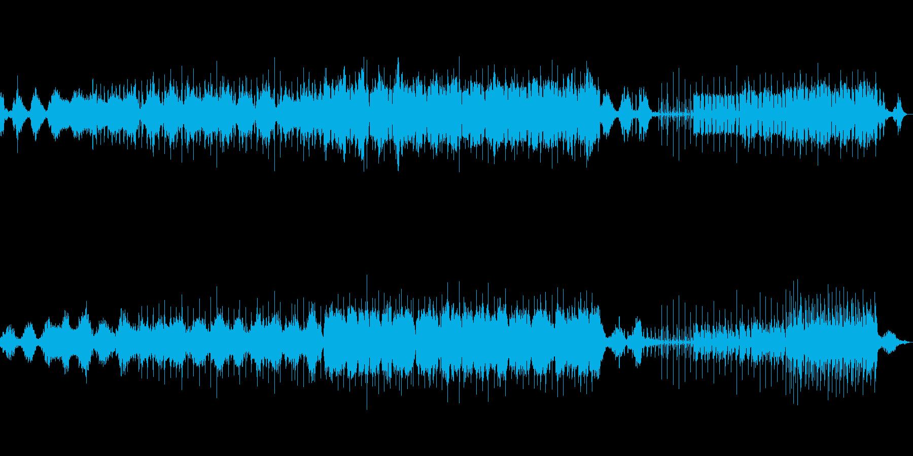 神秘的で切ないエレクトロサウンドの再生済みの波形