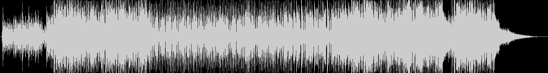 明るくアップテンポなクリスマスBGMの未再生の波形