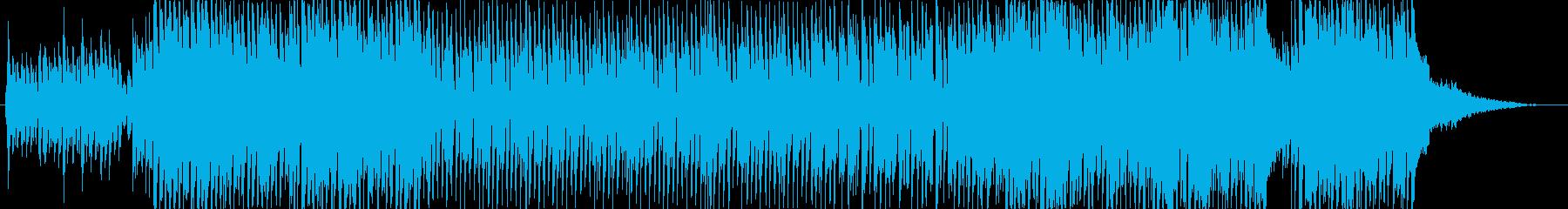 明るくアップテンポなクリスマスBGMの再生済みの波形