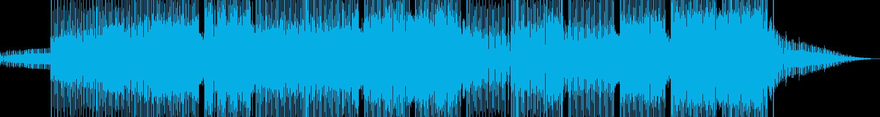 科学・浮遊感漂うテクノ 表拍リズム A+の再生済みの波形