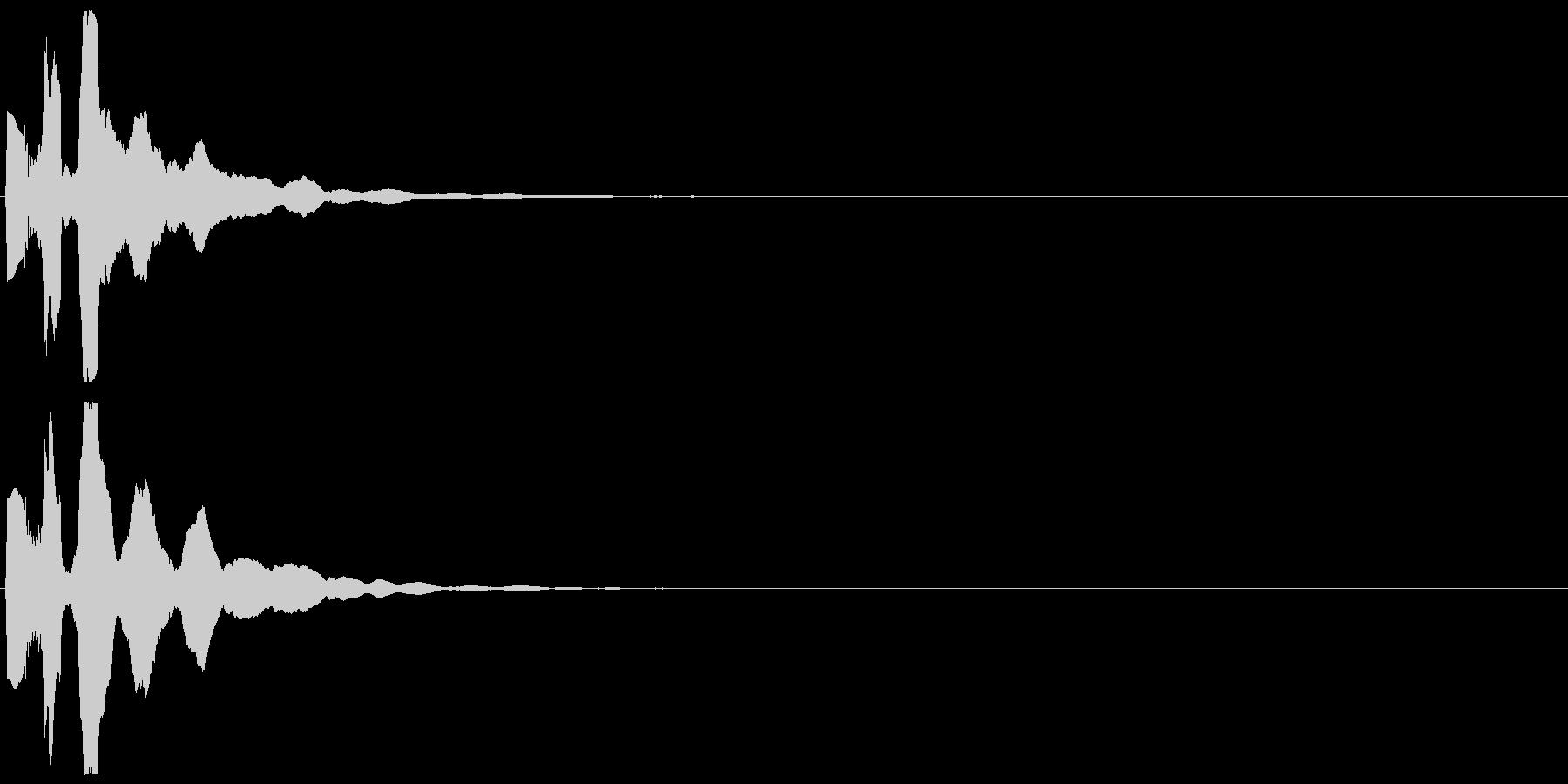 「表示」キャプション/テロップ_000の未再生の波形