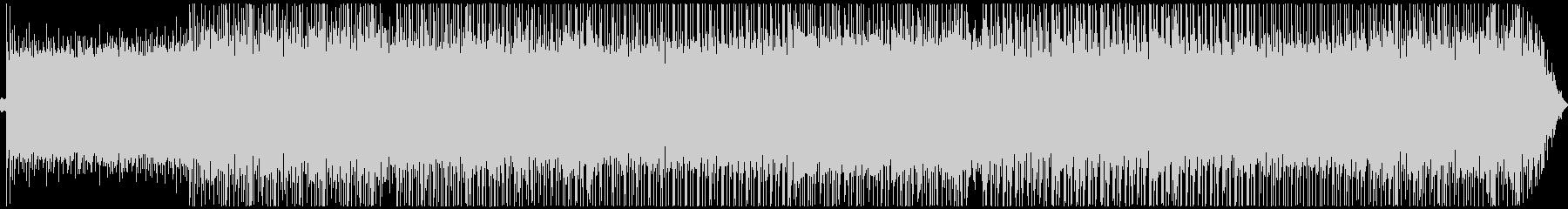 美しいピアノのドラムンベース・ボスバトルの未再生の波形