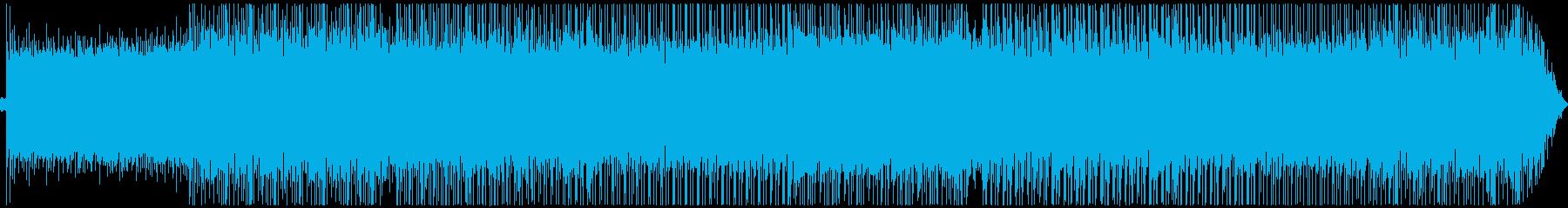 美しいピアノのドラムンベース・ボスバトルの再生済みの波形