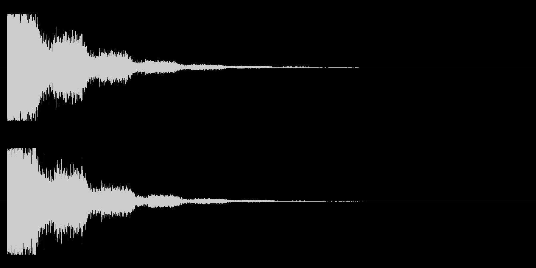 レーザー音-18-2の未再生の波形