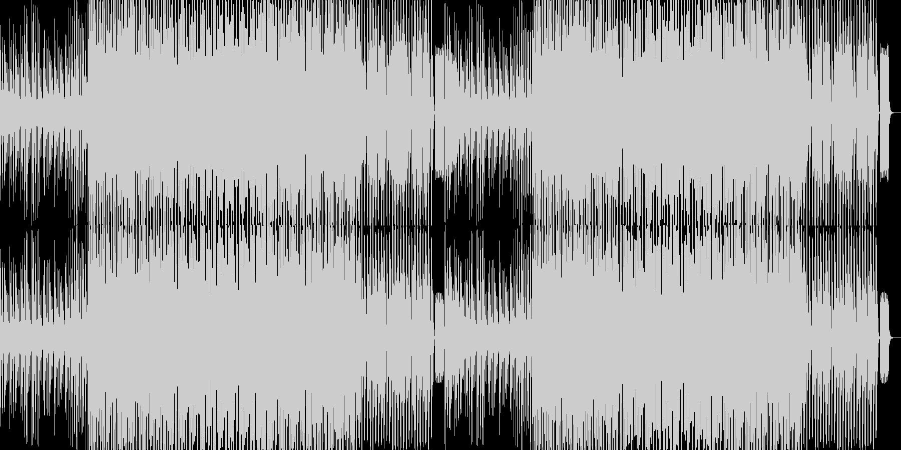 キャッチーなパーティーシンセポップの未再生の波形