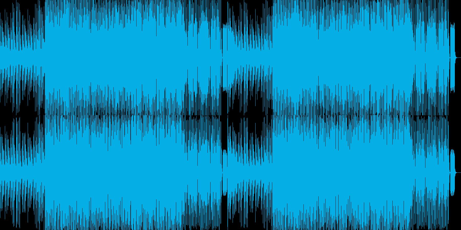 キャッチーなパーティーシンセポップの再生済みの波形