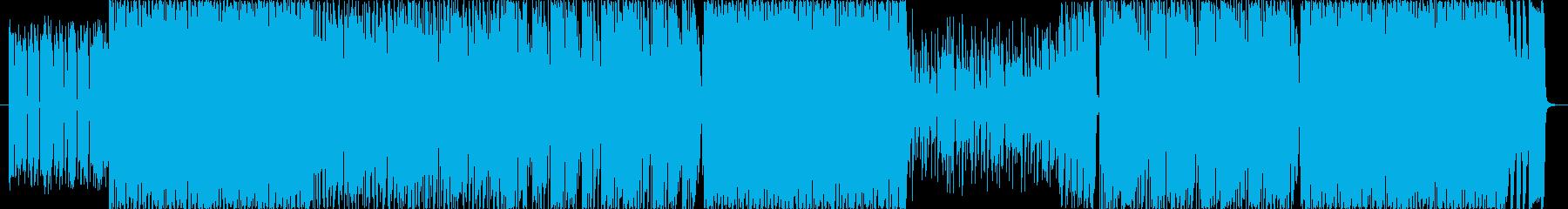 ポップロック ファンク ポジティブ...の再生済みの波形