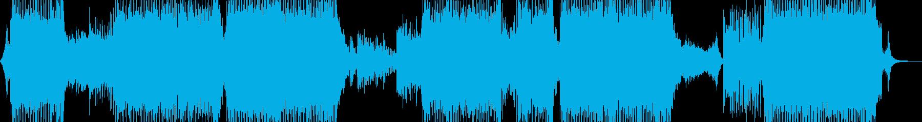 煌びやかで幻想的な冬テクノ 長尺の再生済みの波形