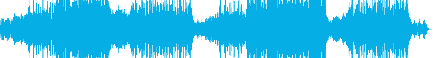 近未来的な作品に・クセになるR&B 長尺の再生済みの波形