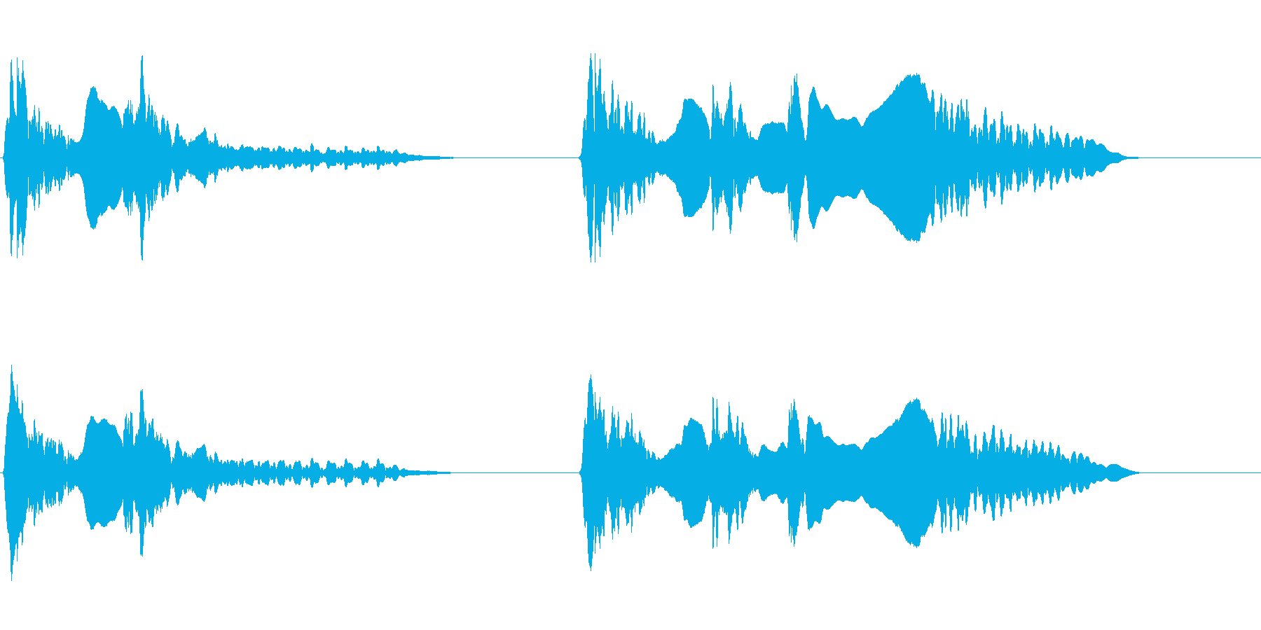 尺八 生演奏 古典風 残響音無 7の再生済みの波形