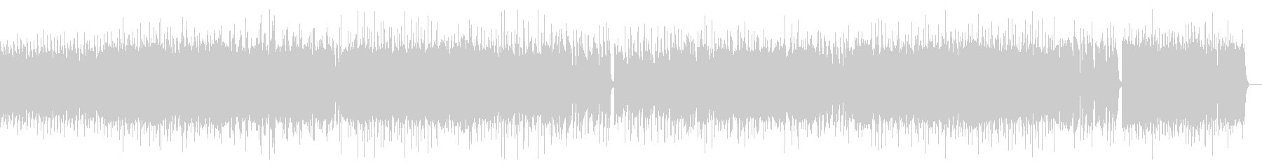 激しいポップパンク(ギターソロ抜き)の未再生の波形