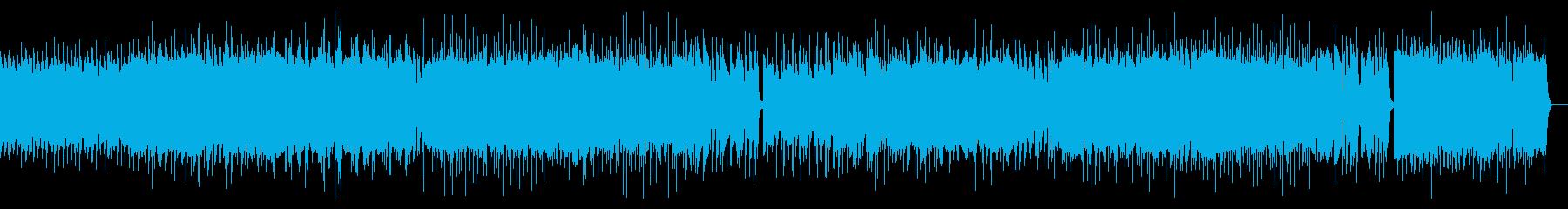 激しいポップパンク(ギターソロ抜き)の再生済みの波形