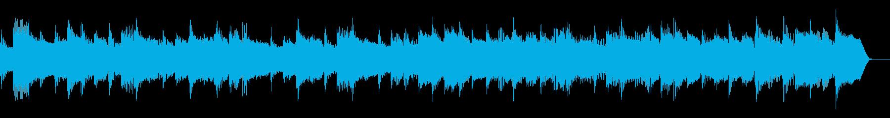 アコギのジングル、企業VPの再生済みの波形