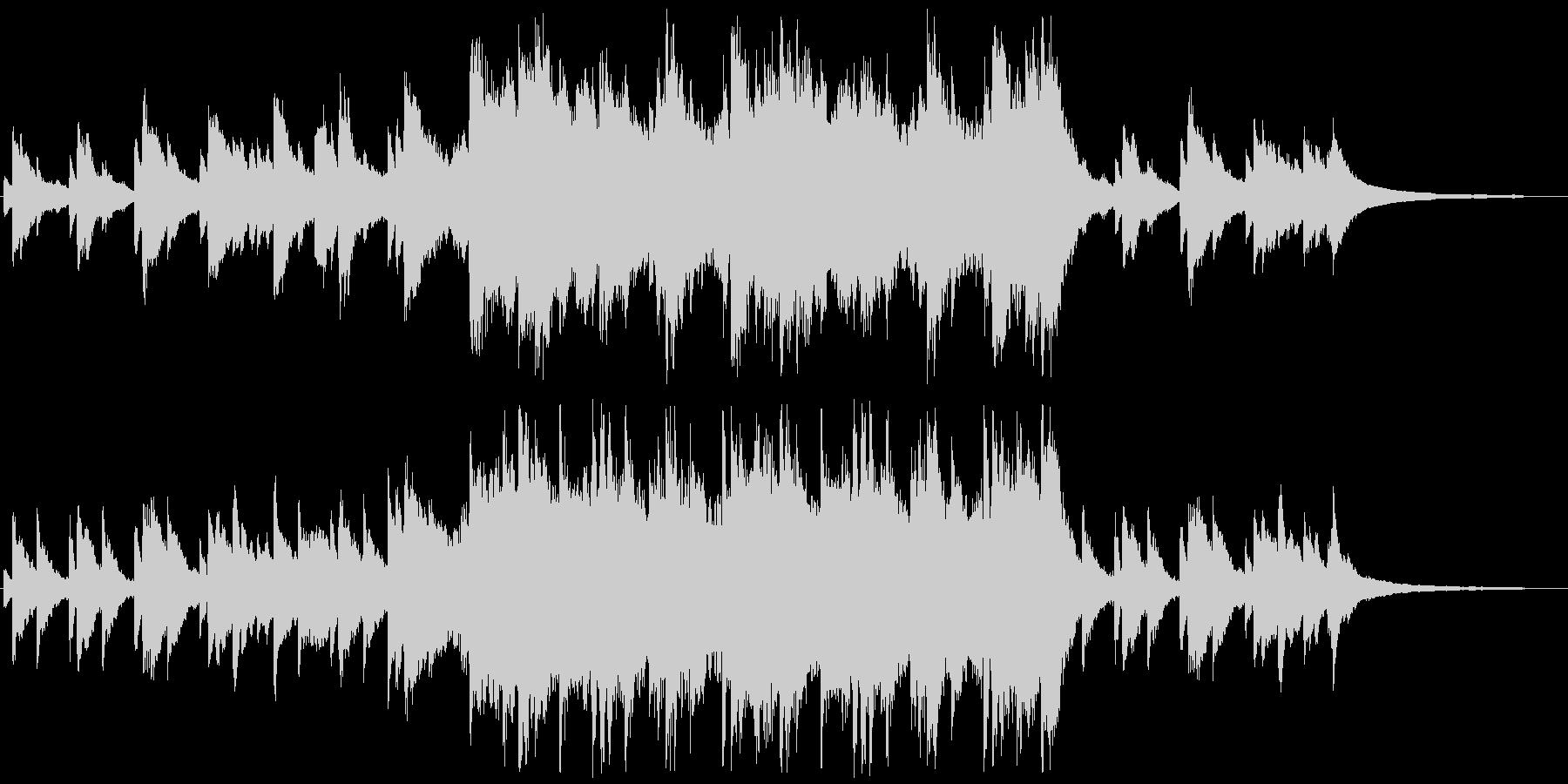 現代の交響曲 企業イメージ 広い ...の未再生の波形