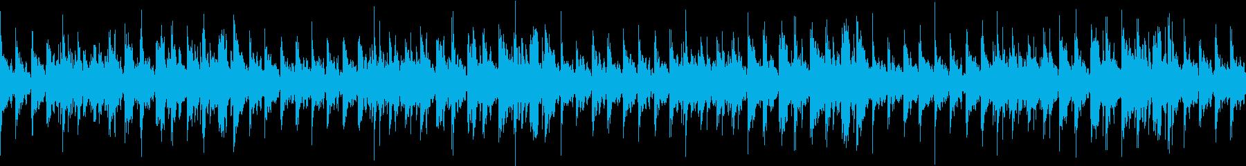 ミニマル、爽やかなエレクトロニカループの再生済みの波形