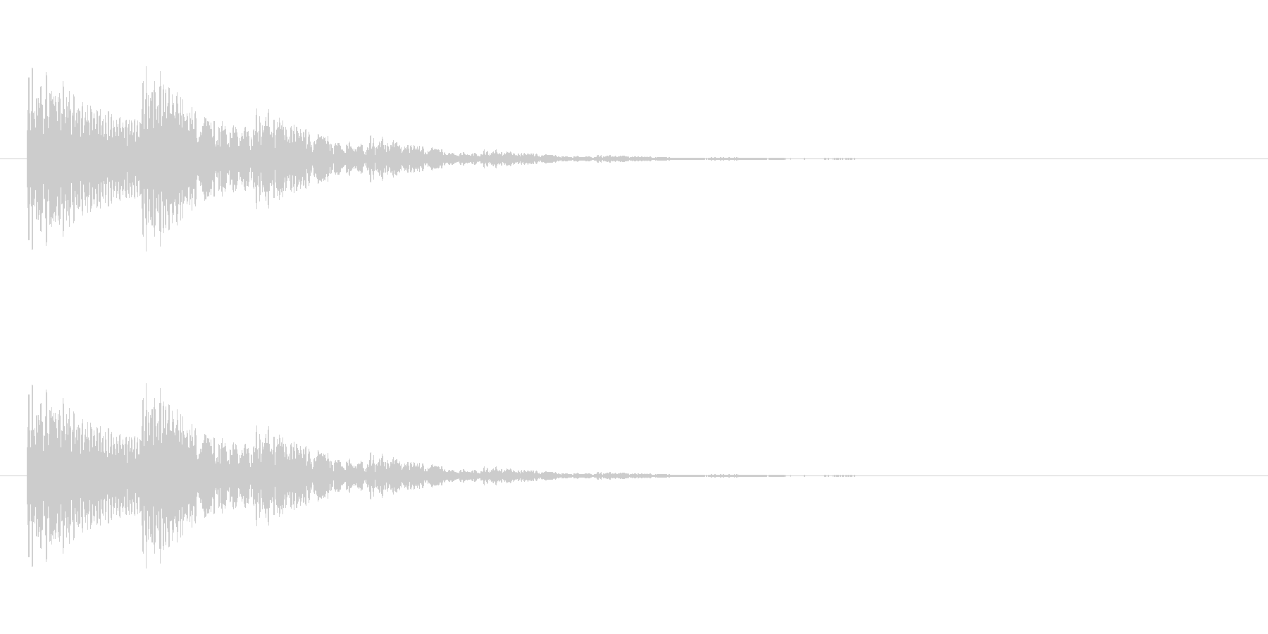 【光る05-2】の未再生の波形