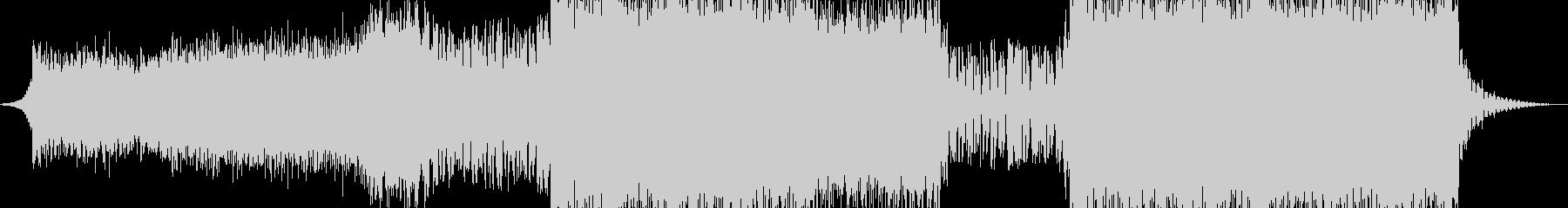 クールで切ないハウスエレクトロの未再生の波形