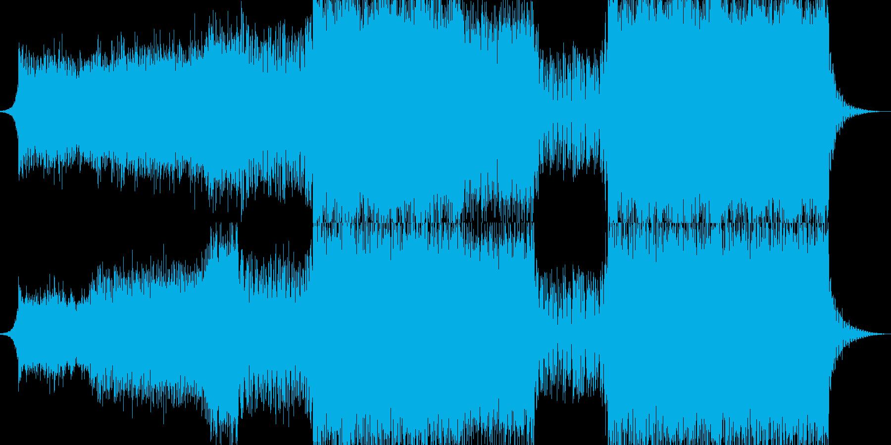 クールで切ないハウスエレクトロの再生済みの波形