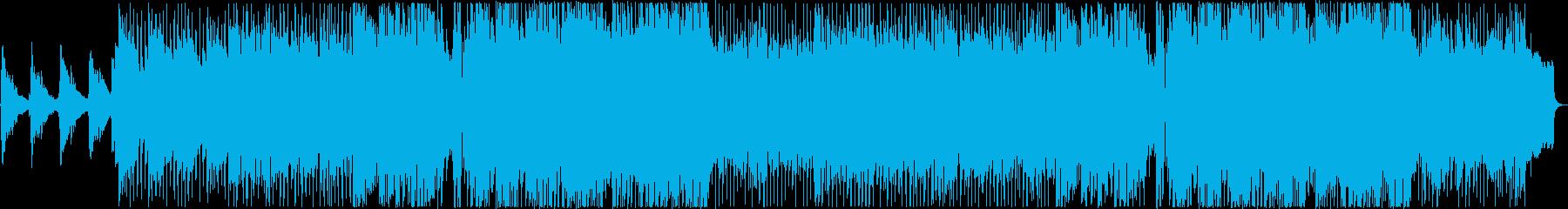 [生ギター]前向きで爽やかな曲の再生済みの波形