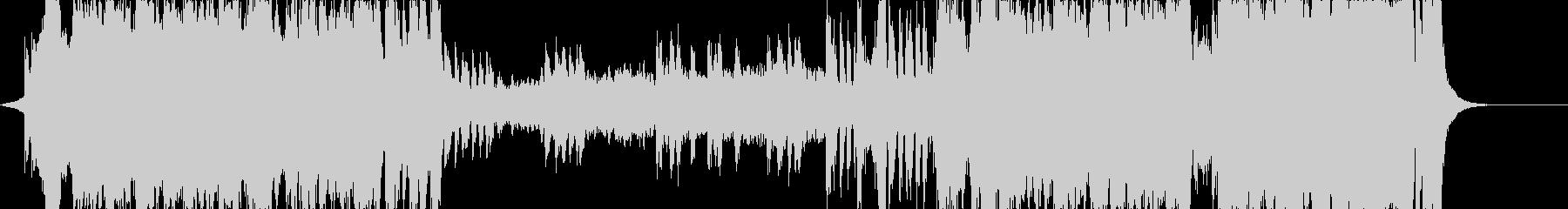華やかに旅立つ音、安い音源バージョンの未再生の波形