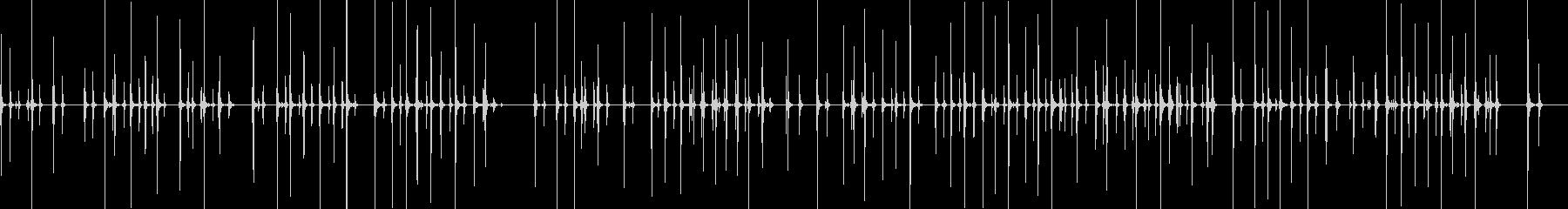 キーボードの未再生の波形