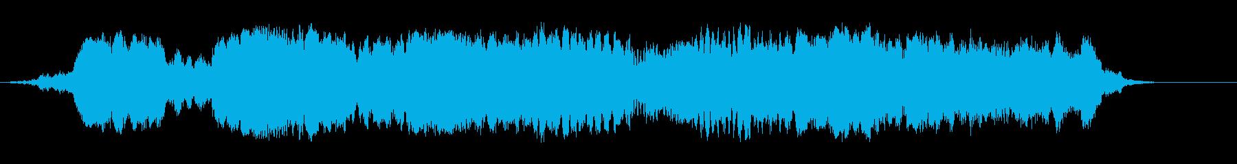 重金属スクレイピング鳴きの再生済みの波形