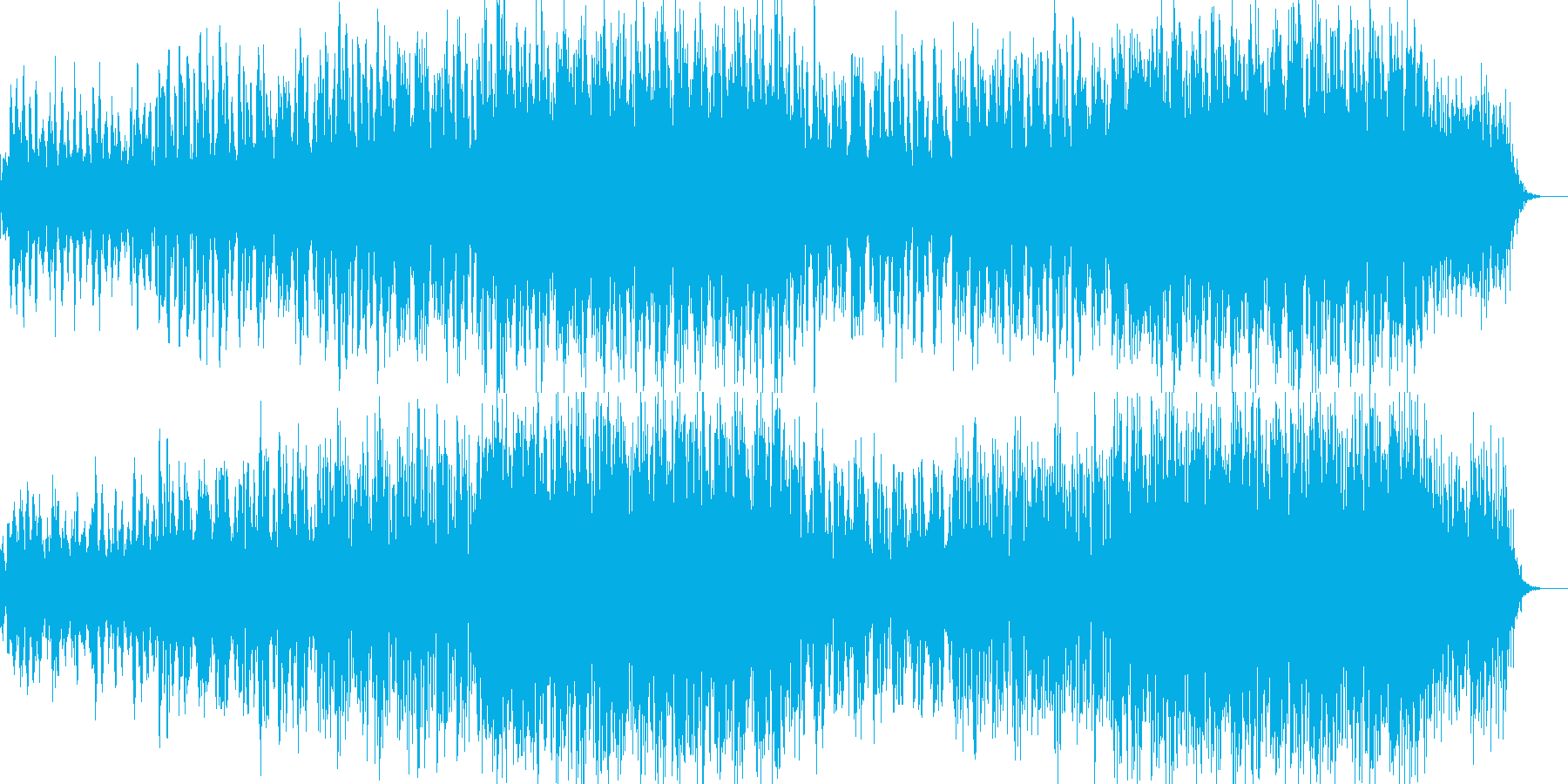 アンビエント環境音楽ヒーリング-12の再生済みの波形