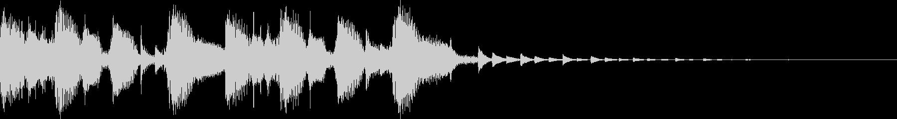 モダン・最先端・EDMジングル3の未再生の波形